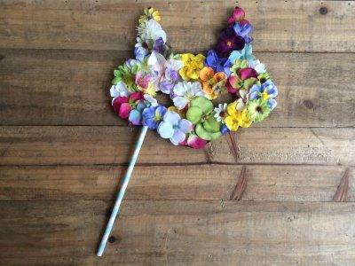 """画像1: 「Cat MASK """"flower""""」  キャットマスク花"""