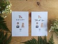 「THANKS Card」サンクスカード100枚