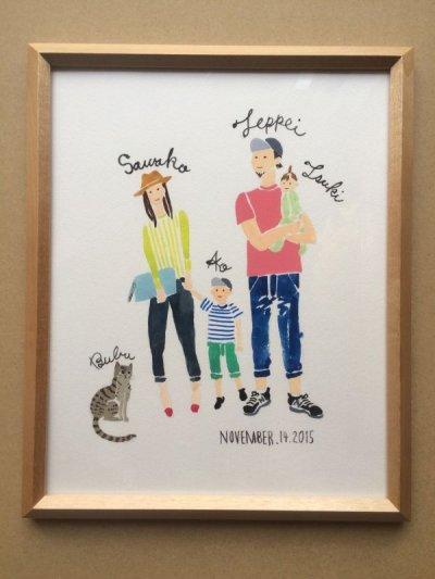 画像2: 「Portrait of family」家族の肖像 S