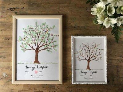 画像1: 「Wedding Tree」ウェディングツリーA3サイズ