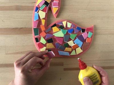 画像5: 「モザイクアート(鳥)」制作キット
