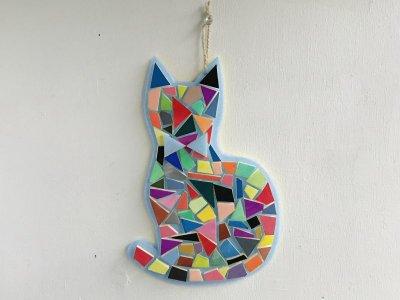 画像1: 「モザイクアート(猫)」制作キット